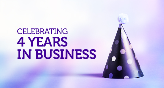 4 Years in Business