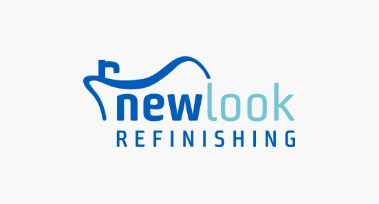 New Look Refinishing Logo Design