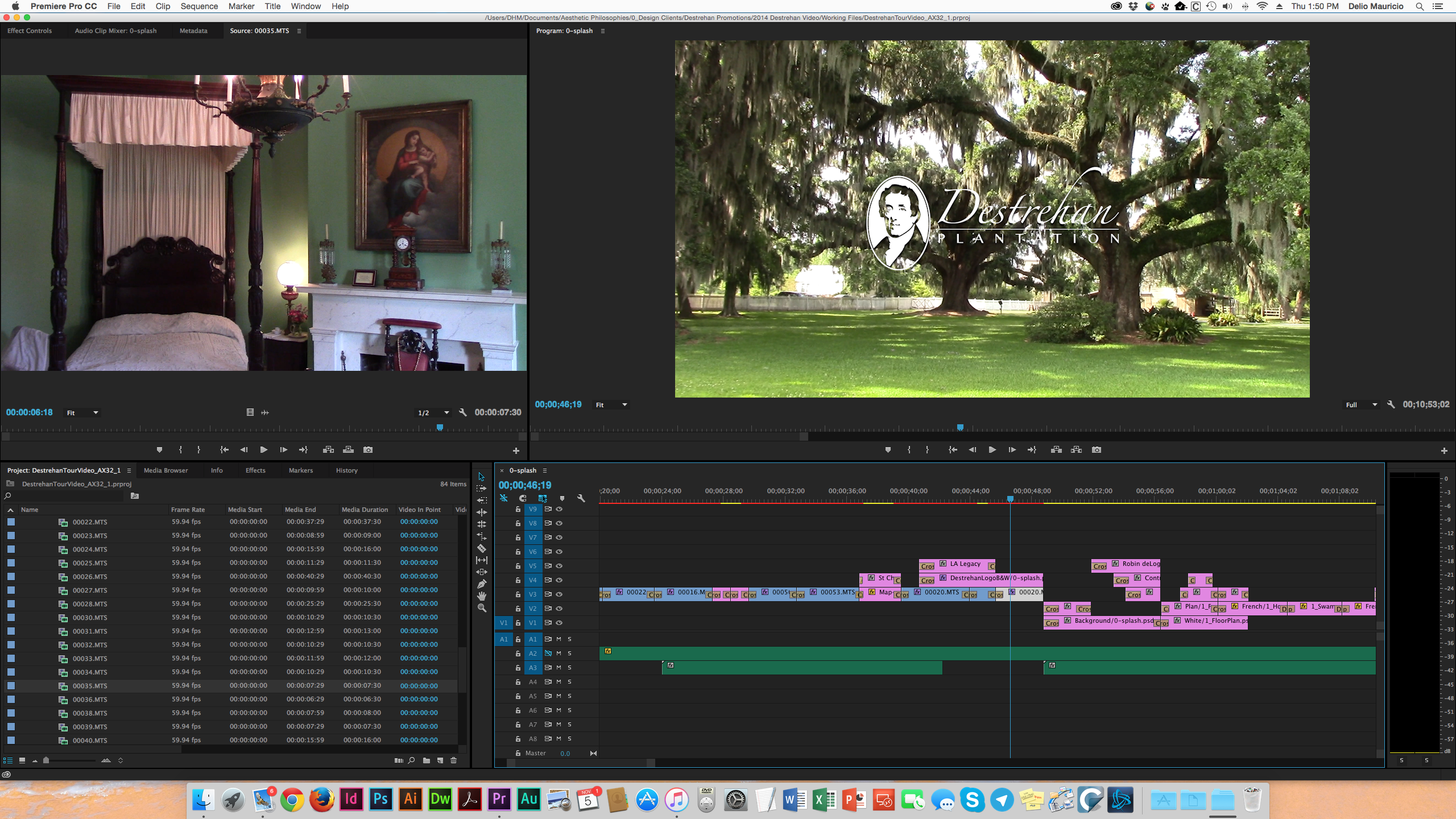 Video Editing Screenshot
