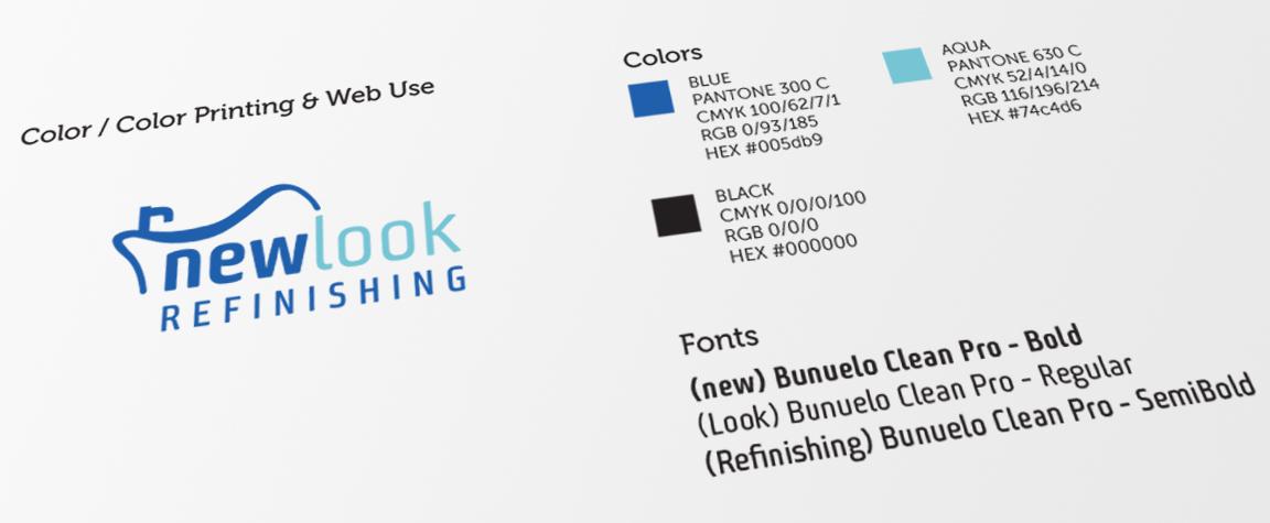 style guide in logo design